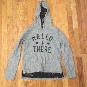 Grey Hoodie from Gap